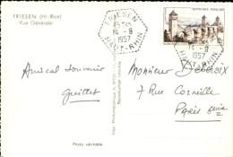 Friesen 1957 - Marcophilie (Lettres)