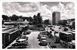 VENEZUELA - CARACAS - PLAZA DE CHACAITO - Fotokarte Als Flugpost Gel.1940?, Seltene Frankierung (0,05+60C), Verlag > - Venezuela