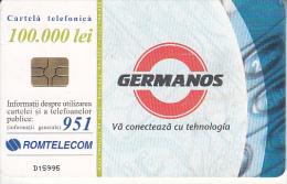 ROMANIA - Germanos, 12/01, Used - Romania