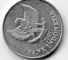 Indonesia 100 Rupiah 2001