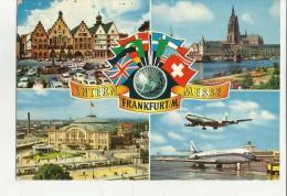 84198 Intern Frankfurt Messe Si Vede Aereo Air France - 1946-....: Moderne