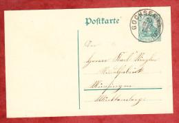 P 90 Germania, Gochsen Nach Muensingen 1913 (60879) - Deutschland