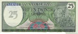 SURINAME 25  Gulden 1985 - Suráfrica