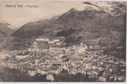 Carte Postale Ancienne,italie,italia,im Peria,liguria,PIEVE DI TECO EN 1924,vue Panoramique,prés Acquetico,calderara - Imperia