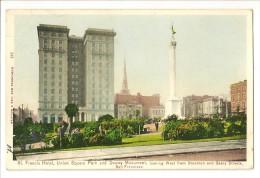S1292 - St Francis Hotel, Union Park And Dewey Monument San Francisco - San Francisco