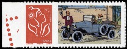 Tintin - timbre Citro�n 1 - Adh�sif, neuf