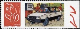 Tintin - timbre Citro�n 12 - Adh�sif, neuf