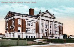TORONTO (Canada) - Riverdale Collegiate Institute Um 1910? - Toronto