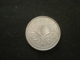 piece de 5 francs des somalis