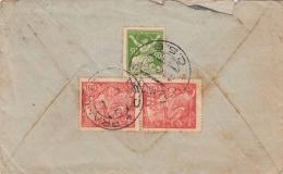 Brief CESKOSLOVENSKA 1923 - 3 Fach Frankierung, Gel. > Dubrovnik-Ragusa - Tschechoslowakei/CSSR