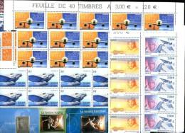 FRANCE- Lot  400 Eur. de FACIALE (sans surtaxes) - Timbres � VF unitaire sup�rieure ou �gale � 1,00 Eur.