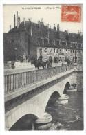 PONTARLIER  Le Pont De L'hopital Officier à Cheval - Pontarlier