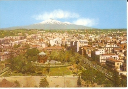 6606/A/FG/14 - CATANIA - Panorama con l'Etna