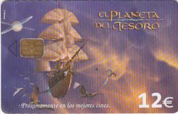 SPAIN - Disney/Treasure Planet, 06/03, Used - Disney