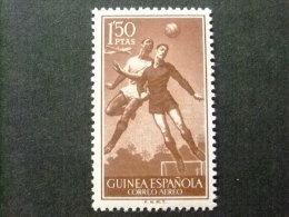 GUINEA GUINEE ESPAGNOLE  AÑO 1955 -- DEPORTES FUBOL - Edifil Nº 352 ** MNH -- Yvert Nº  PA 25 ** MNH - Spanish Guinea
