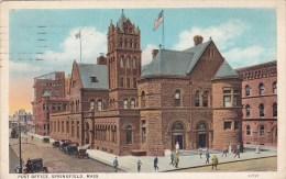 Post Office Springfield Massachusetts 1926
