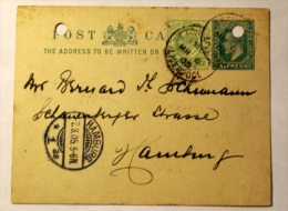 Great Britain H&G # 29, Pse Postal Card, Used, Issued 1902 - Storia Postale