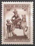 1941 50c + 10c Statue,  Mint Hinged - Belgium