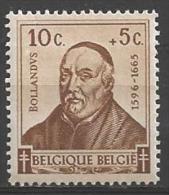 1942 10c + 5c Bollandus,  Mint Light Hinged - Belgium