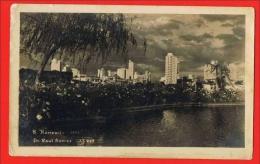 Belo Horizonte - Praça Raul Soares 1951 - Real Photo Postcard ( 2 Scans ) Brasil Brazil - Belo Horizonte