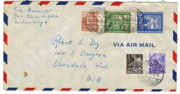 3314. German Democratic Republic 1954 Cover Used