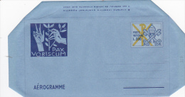 Vatican City 1977 A 14 Keys ,Pax Vobiscum. Unused Aerogramme - Vatican