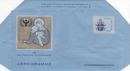 Vatican City 1990 A 28 International Writing Year Mint Aerogramme - Vatican