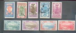 MART 403 - YT 120*-121*-122*-123*-124*-/125 Obli/126*/127 Obli/128* - Martinique (1886-1947)