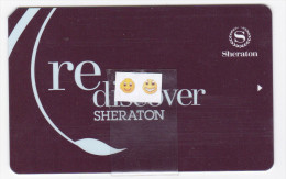 Sheraton  - Clé De Chambre - Hotelkarten