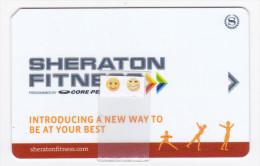 Sheraton Fitness - Clé D´accès - Cartas De Hotels