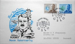 Norway 1969      MiNr.585-86  FDC (lot 3321) - FDC