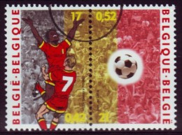 Belgie Belgien 2000, Voetbal Fußball - OBP 2892/93 MiNr 2943/44, Speciemen - Championnat D'Europe (UEFA)