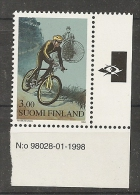 Finland Sport Bicycle MNH - Neufs