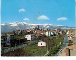Italie - Orsogna panorama con la Maiella