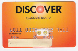 USA - Carte DISCOVER 1994 - Geldkarten (Ablauf Min. 10 Jahre)
