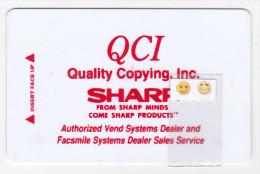 USA - Carte SHARP QCI - Cartes De Crédit (expiration Min. 10 Ans)