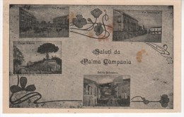 PALMA CAMPANIA,Napoli1925 Panorami In Quattro Piccole Immagini - Altre Città