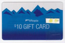 USA - Carte Translucide Liftopia - Geldkarten (Ablauf Min. 10 Jahre)