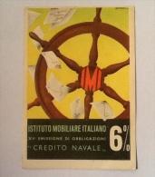 IST. IMMOBILIARE ITALIANO XV EMISSIONE OBBLIGAZIONI CREDITO NAVALE VIAGGIATA N.1 - Pubblicitari