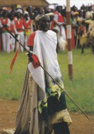 Z] Carte Postale Postale Postcard Burundi Guerrier Warrior - Burundi