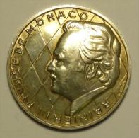 Monaco MÉDAILLE ARGENT / SILVER - RAINIER III - 25 ANS DE RÈGNE - 1949 - 1974 # 4 - Monaco