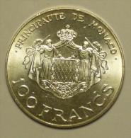 Monaco 100 Francs 1982 Argent / Silver # 2 - Monaco