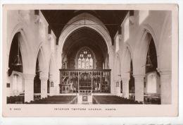 ROYAUME-UNI . INTERIOR TWYFORD CHURCH. MANTS . CHURCH OF St MARY THE VIRGIN - Réf. N°3244 - - Autres