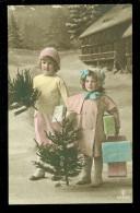 Enfants  Enfant   Kinderen  Kind   Arbre De Noël  Kerstboom - Enfants