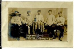 Militaria Militaire Soldat Allemand Errinnerung Den Griesheimer Sand 1908 Hoch Lothringen Lorrainephoto Wollf Darmstadt - Uniformes