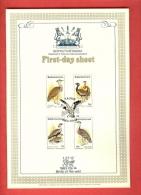 BOPHUTHATSWANA, 1983, Birds Of The Veld,  First Day  SHEET Mint 1.27.12 - Bophuthatswana