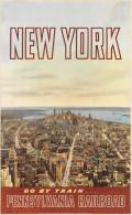 @@@ MAGNET - NEW YORK - PENNSYLVANIA RAILROAD - Publicitaires