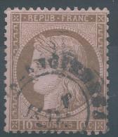 Lot N°27118   N°54, Oblit Cachet à Date A Déchiffrer - 1871-1875 Cérès