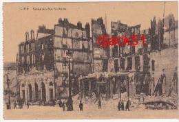 LILLE (Ruines) - Entrée De La Rue Faidherbe / Carte écrite En Allemand / 1916 - Guerre 1914-18