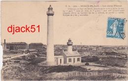 62 - BERCK-PLAGE (Pas-de-Calais) - Les Deux Phares - Berck